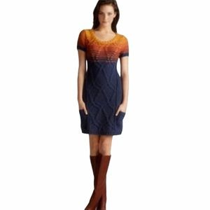 Free People Sunset Cable Knit Sweater Dress